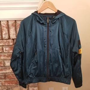 Zella Windbreaker Hooded Jacket Size XS